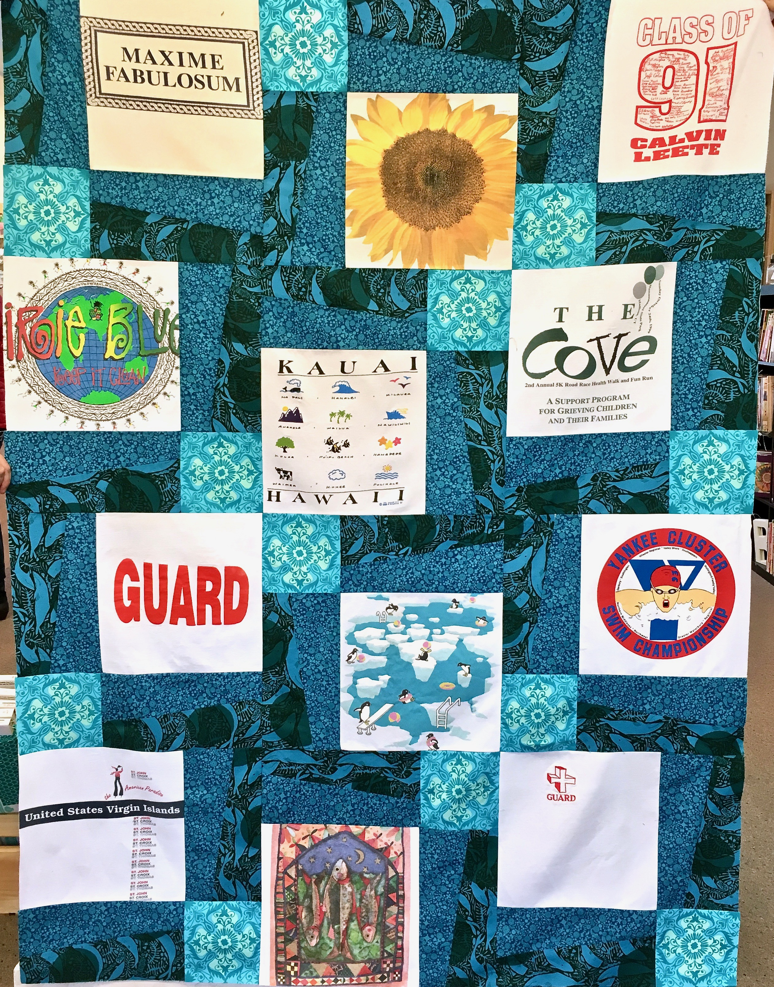 T-Shirt Quilt Workshop - Cate's Sew Modern : quilt workshop - Adamdwight.com
